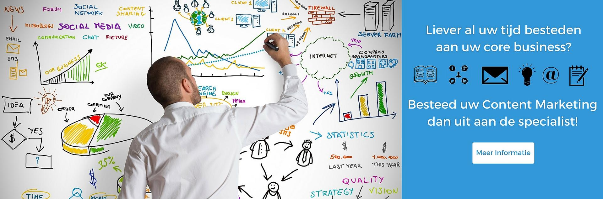 Content Marketing is zeer belangrijk voor uw bedrijf en On Mind kan u hierbij helpen